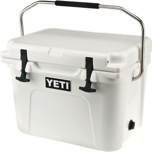 Camping Ice Boxes and Coolers 181382: Yeti Roadie 20 Qt Cooler ,White-Color, New Brand - Free Shipping!! -> BUY IT NOW ONLY: $189.59 on eBay!