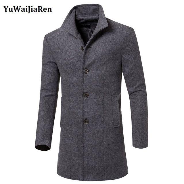 Top 25  best Mens long coat ideas on Pinterest   Trench coat men ...