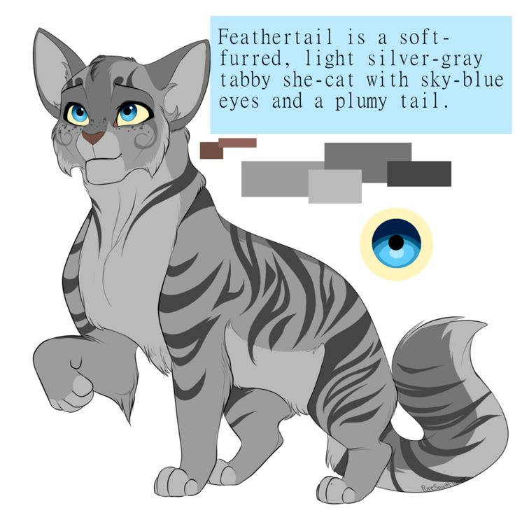 Feathertail by PureSpiritFlower on @DeviantArt
