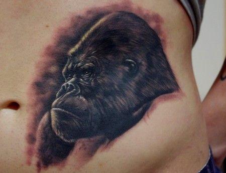 Tattoo-Foto: Winner Gorilla Con Kiel Best of Sunday