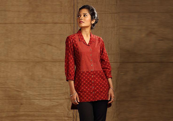Tunics for women - Madder Shirt Tunic by Seamstress PC 16251 - Main