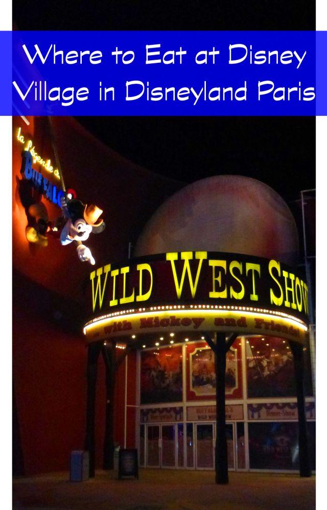 Where to eat at Disney Village in Disneyland Paris