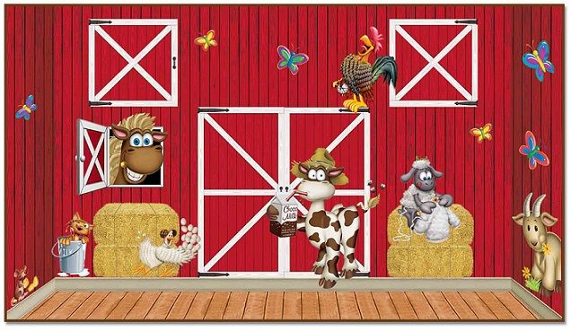 Red Barn Insta-Theme, Farm Backdrops, Backgrounds & Props ...