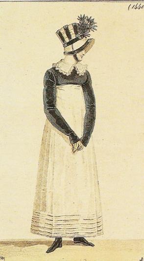 Costume Parisien, 1814.