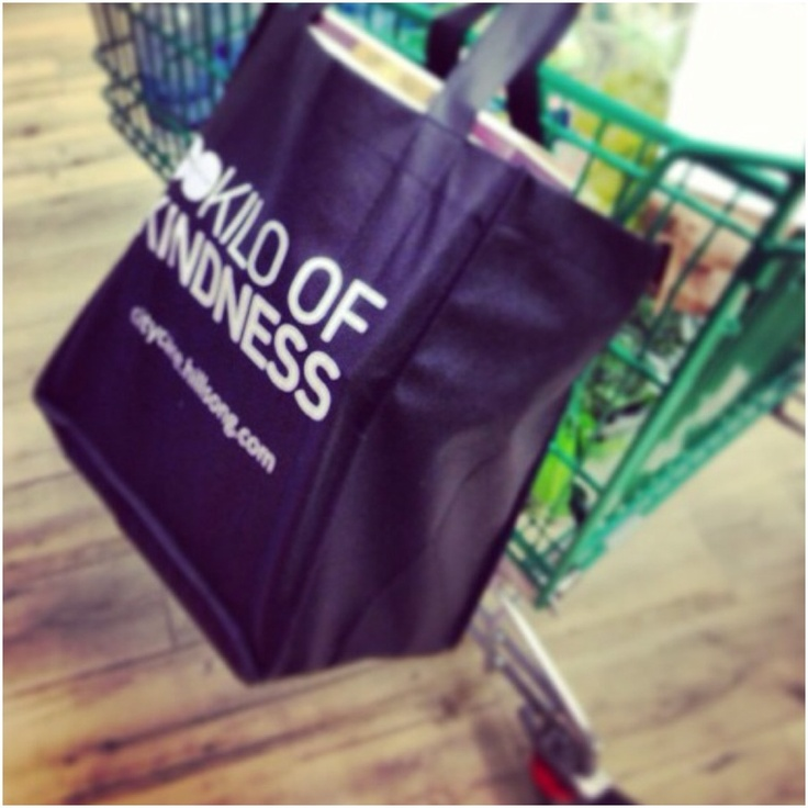 It's always kilos of kindness per bag through our Kilo of Kindness project.