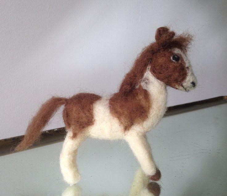 Needle felted horse / pony by Dunja
