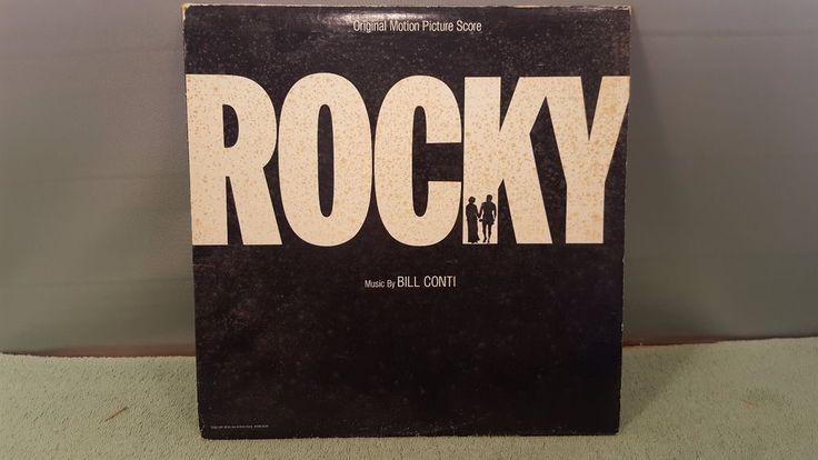 ROCKY Original Motion Picture Score Bill Conti United Artists UA-LA693-G 1976