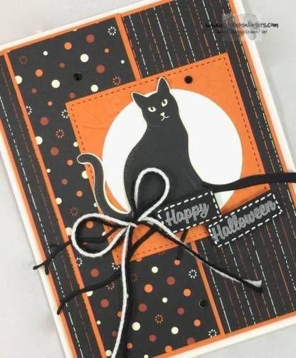 Seasonal Spooky Cat Punch Halloween - Stamps-N-Lingers 4