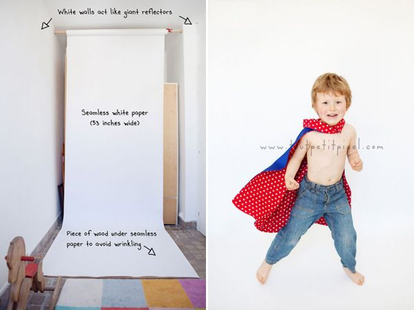 How to make homemade Photo Studio