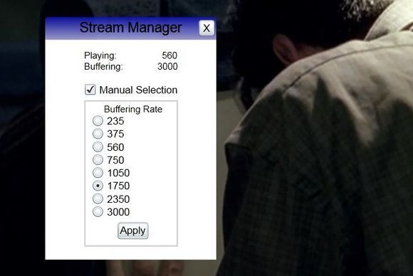 How to manually lower Netflix's streaming bit rate