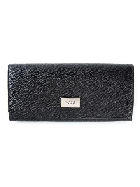 Купить Tod's кошелек с откидным клапаном в Stefania Mode from the world's best independent boutiques at farfetch.com. Shop 300 boutiques at one address.