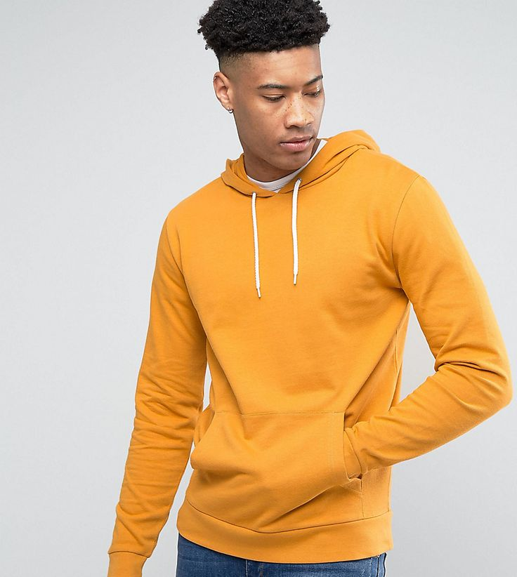 ASOS TALL Hoodie In Yellow - Yellow