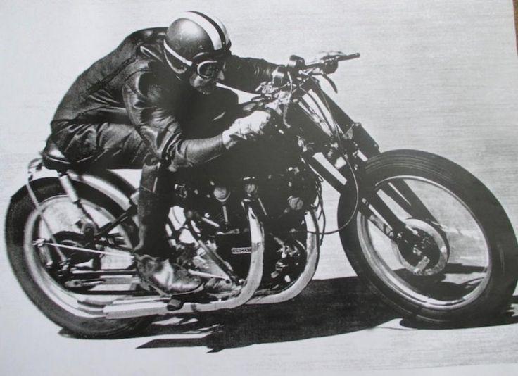 1952 Vincent Black Shadow Special.