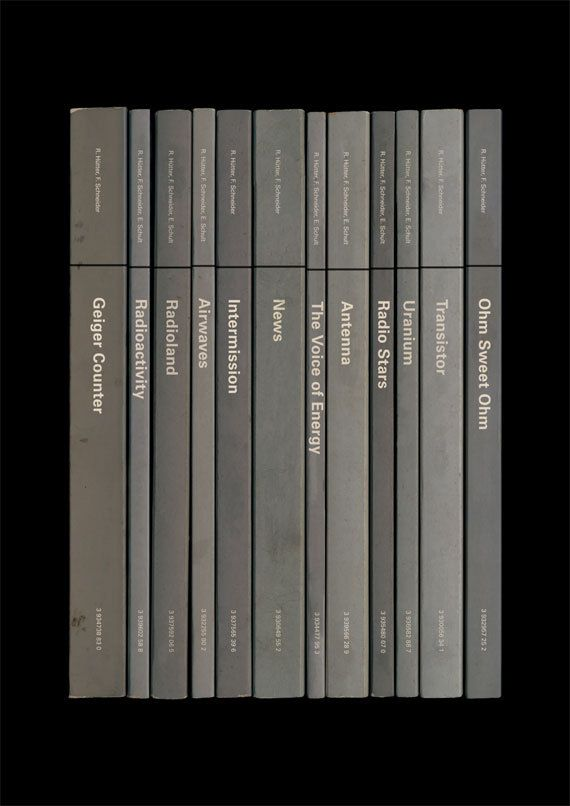 Kraftwerk 'Radio-Activity' Album As Books Poster Print