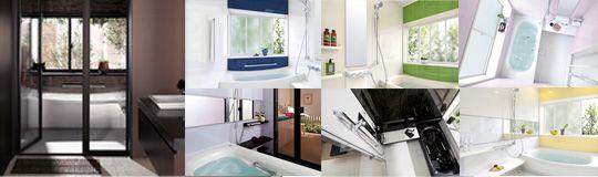 サザナの特長 TOTO システムバス sazana(サザナ) 1.ほっカラリ床 2.エアイン®シャワー 3.魔法びん浴槽