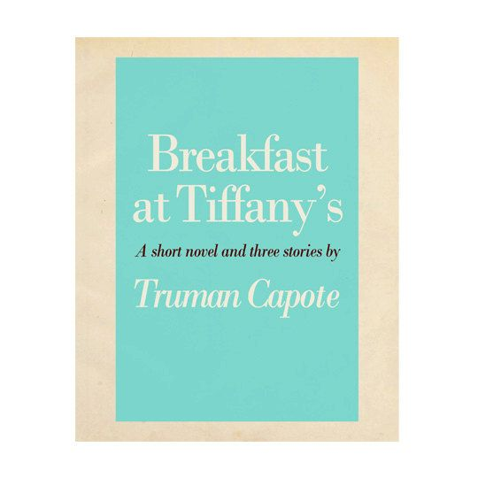 Breakfast at Tiffany's Book Cover Print Digital by RhineandStone, $5.00