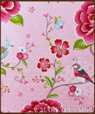 pip behang roze