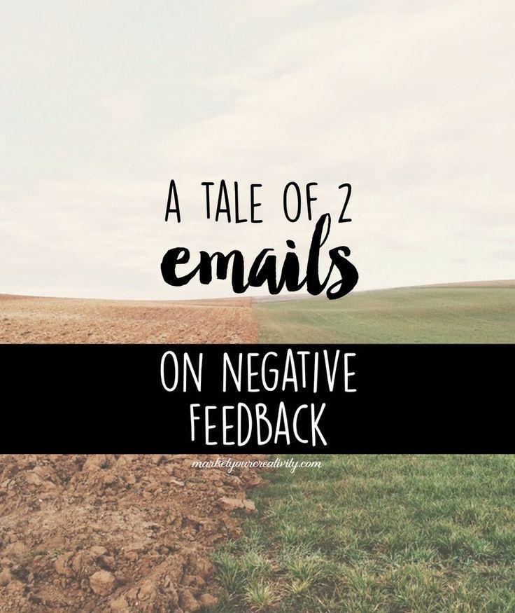On negative feedback