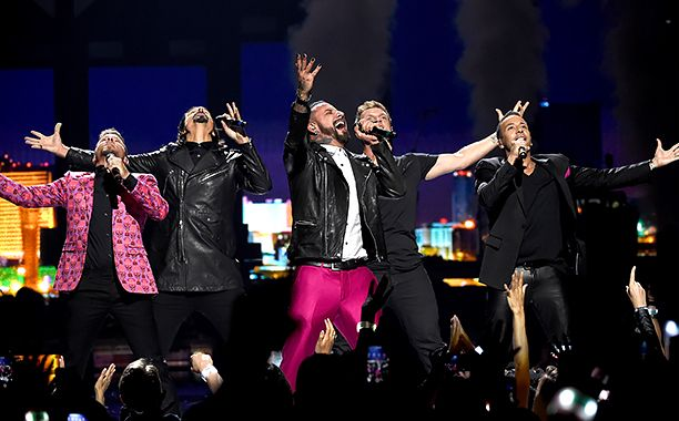 After announcing their upcoming residency show in Las Vegas, the Backstreet Boys surprised concertgoers at the iHeartRadio Music Festival on...