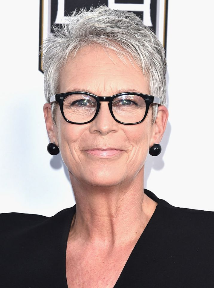 <p>Actress Jamie Lee Curtis, seen here in mid-October, famously said she was giving up the trappings of glamour as she neared 50. (Photo: Alberto E. Rodriguez/Getty Images) </p>