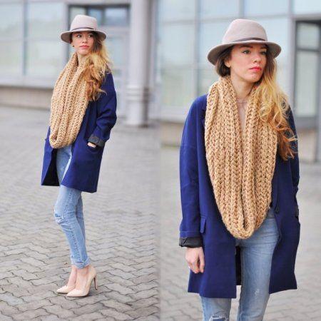 blazer with drop shoulder -  więcej na www.STYLIZACJE.pl