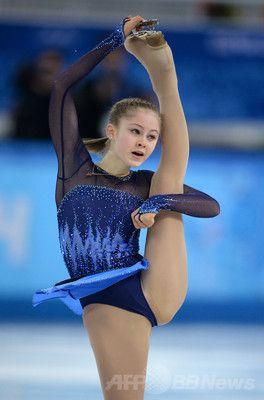 フィギュア女子SPで5位のリプニツカヤ、ソチ五輪