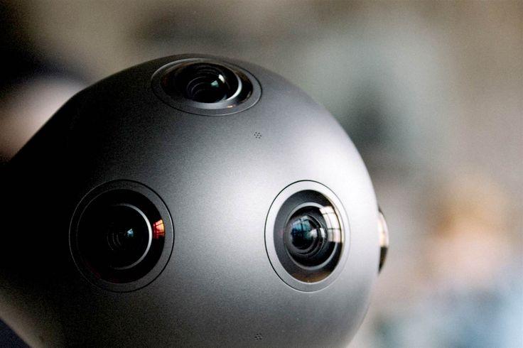 Image: Nokia OZO Virtual Reality camera