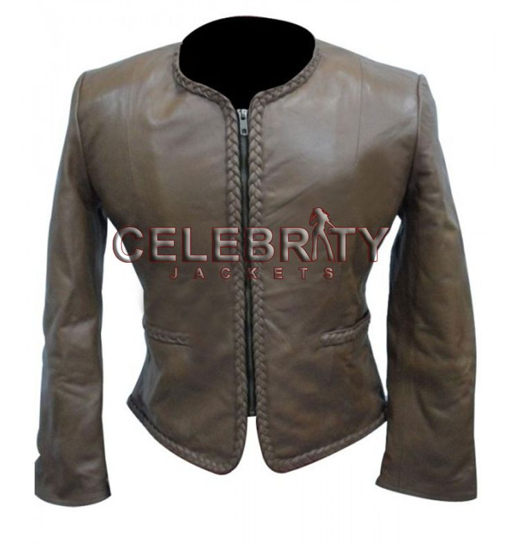 Women Body Fitted Leather Jacket