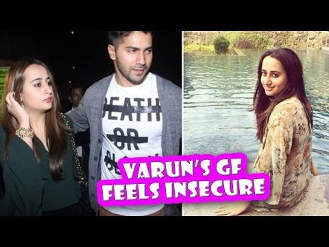 Varun Dhawan Girlfriend Feels Insecure | Latest Bollywood Movies News 2016 - (More info on: http://LIFEWAYSVILLAGE.COM/movie/varun-dhawan-girlfriend-feels-insecure-latest-bollywood-movies-news-2016/)