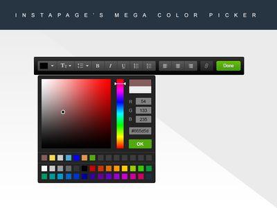 Mega Color Picker