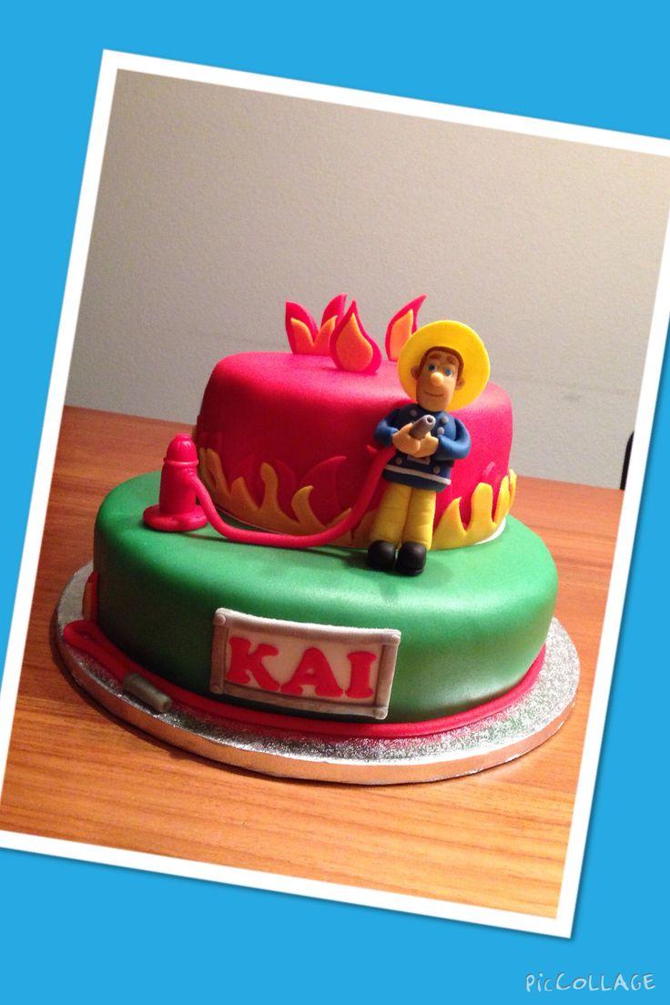 Brandweerman Sam taart / Fireman Sam cake