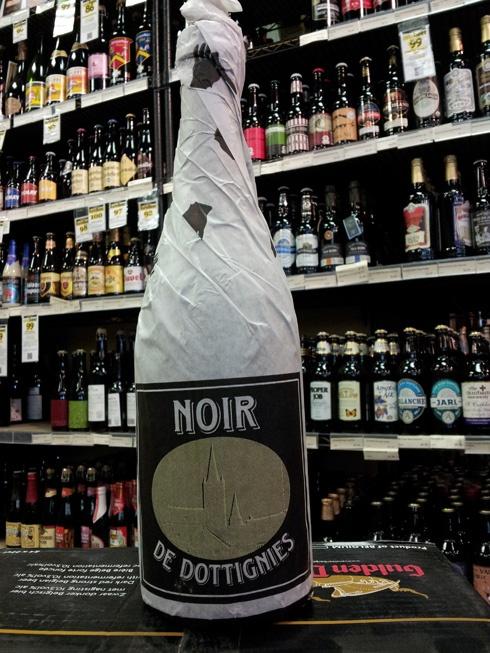 Noir De Dottignies by De Ranke Brewery:    A reallllllly nice Dark Belgian Ale. One of my personal favorites.