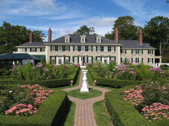 Photo of Hildene in Manchester, Vermont. Home of Robert Todd Lincoln