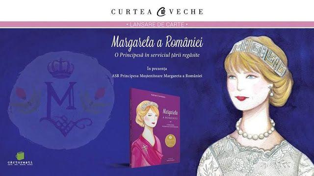 Lansare de carte regală: Margareta a României