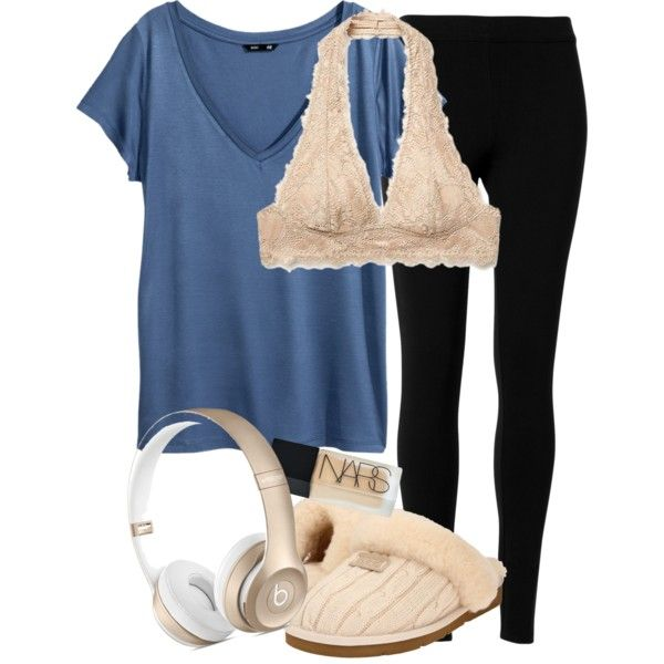 A fashion look from September 2015 featuring H&M tops, Max Studio leggings and Free People bras. Browse and shop related looks.