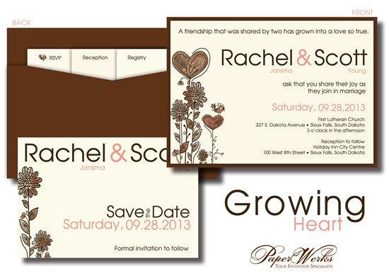 18 best Wedding Invitations PaperWerks images on Pinterest Bridal - formal invitation style