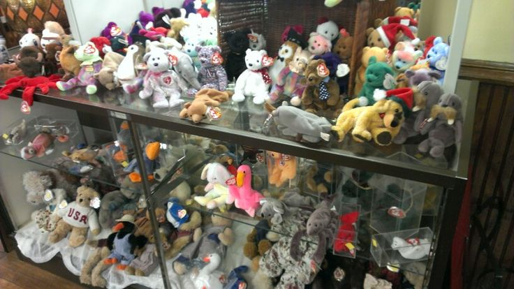 Beanie Babies For Sale At A Thrift Store In Burlington
