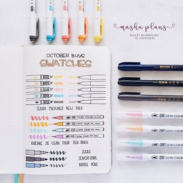 11 Bullet Journal Supplies Under 10$ To Make BuJo Easy – Ki