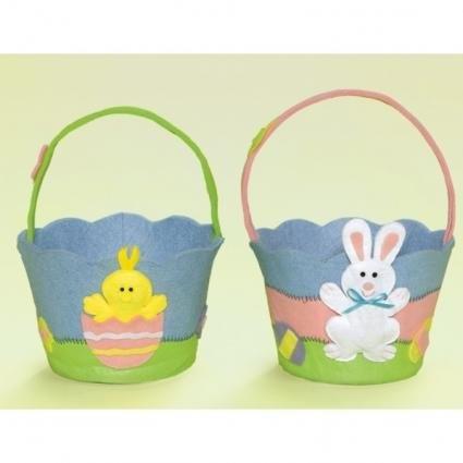 17 Best Images About Felt Easter Baskets On Pinterest