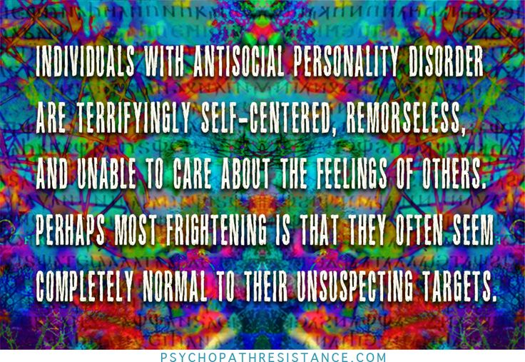 anti social personality disorder paper Antisocial personality disorder is a mental condition in which a person has a long-term pattern of manipulating, exploiting, or violating the rights of others.