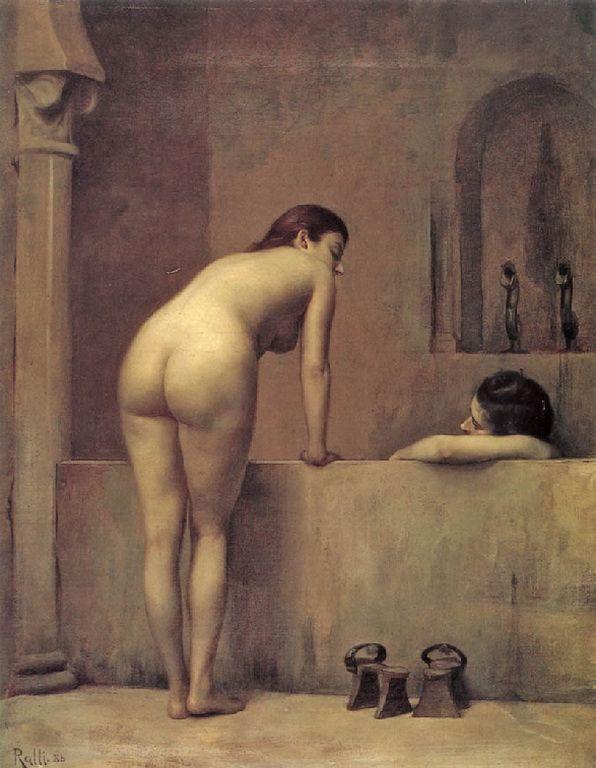 Ράλλης Θεόδωρος-Le bain de l'Alhambra