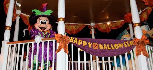 Attend Mickey's Not So Scary Halloween Party
