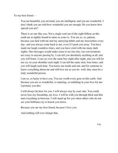 Best 25 Dear best friend letters ideas on Pinterest