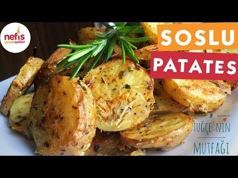 Fırında Özel Soslu Patates (Cips Gibi) – Nefis Yemek Tarifleri