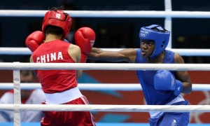 LONDON 2012 OLYMPIC GAMES, BOXING, WOMENS FLY 48-51KG - More young, strong women: that would be an Olympic legacy to be proud of  Women's success at the Olympic Games gives us a golden chance to make huge strides against sexism