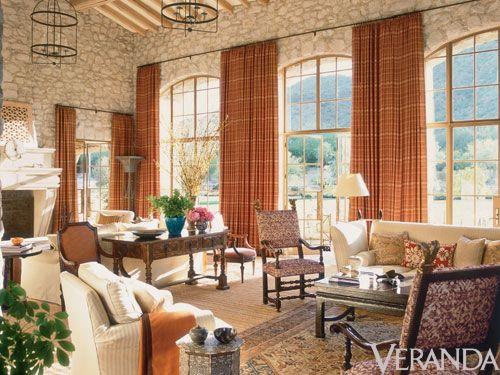 Veranda Living Rooms Apartment Room Design Ideas On A Budget Well Designed Arizona Desert Home Pinterest Classic House And Homes