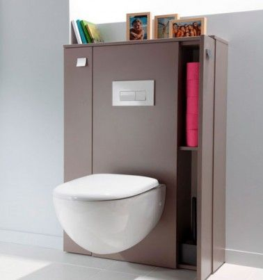 suspension toilettes