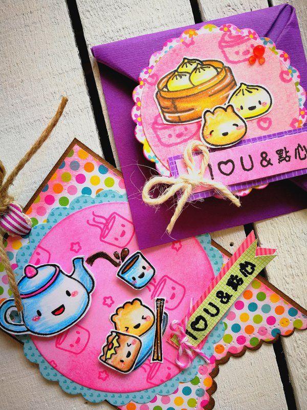 ORIGAMI+BOOKMARK+AND+TAG - Scrapbook.com #mamaelephantstamp #mamaelephant #bookmark #tag #origamibookmark #doodlebugdesign #happystamping