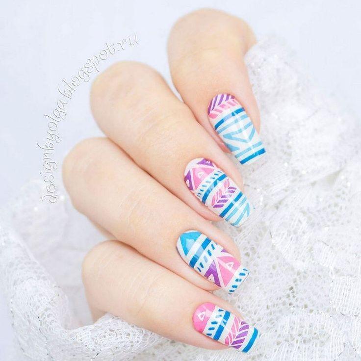 #маникюр #nailart #гельлак #слайдер #чернаяпантера #bpw #красивыйманикюр #ногти #nail #nails #красивыеногти #осень #геометрия #нежно  Маникюр с геометрическим рисунком с @slider_bpwomen. http://ift.tt/2c288wD