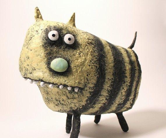 25 best ideas about paper mache animals on pinterest. Black Bedroom Furniture Sets. Home Design Ideas